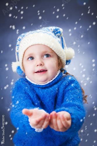 little winter girl