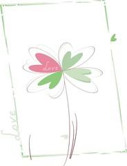 Four- heart clover