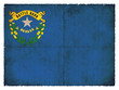 Grunge-Flagge Nevada (USA)