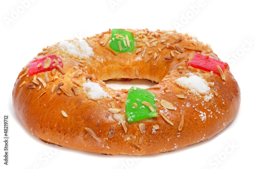 roscon de reyes, spanish three kings cake
