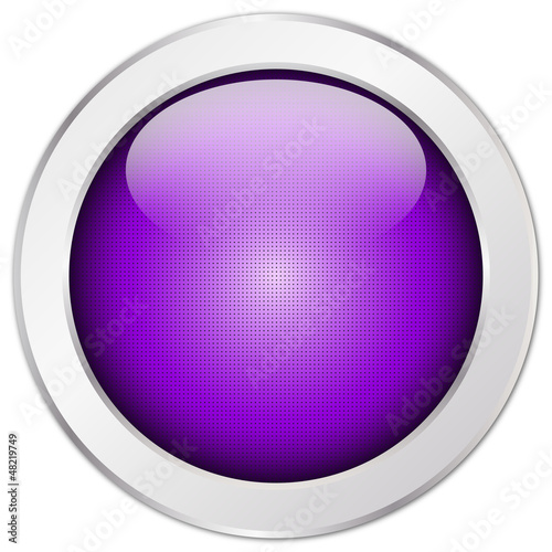 Button Violett, rund, Struktur