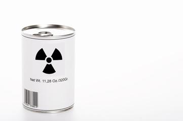 Residuos atómicos contaminantes