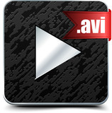 Play avi video button