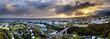 Ville de Saint-Denis à l'aube - La Réunion