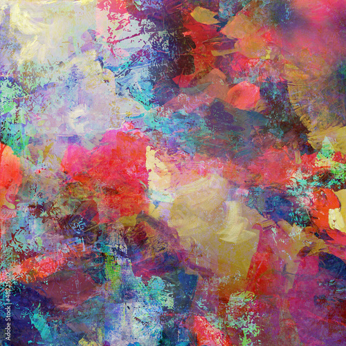 canvas print picture grunge mixed media
