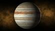 Planet jupiter space, stars