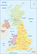 Постер, плакат: Administrative geography of the United Kingdom
