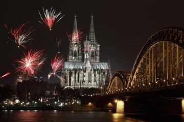 Silvester Köln Bild 1