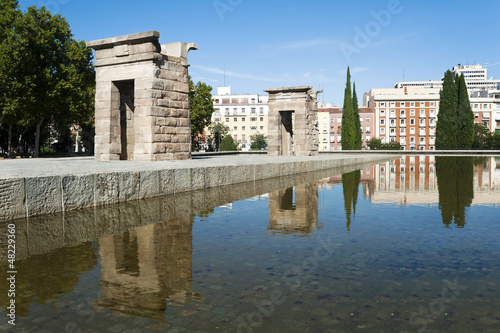 Temple de Debod, Madrid, Spain