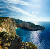 Fototapety The famous Navagio beach in Zakynthos