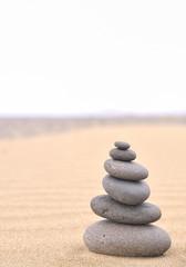 Terapia con piedras calientes.