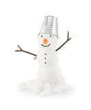 Fototapety snowman