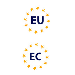 signs of the EU zone