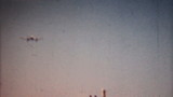 Small Airplane Comes In For Landing-1958 Vintage 8mm film