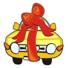 wedding gift-car