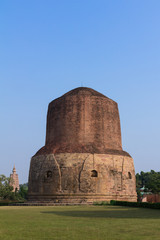 Dhamekh Stupa at Sarnath, Varanasi, India.