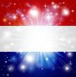Dutch flag background