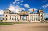 Fototapety Reichstagsgebäude in Berlin