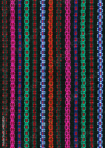 Traditional weaving pattern - 48238124