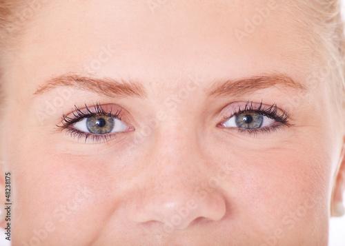Gesicht eines attraktiven Mädchens