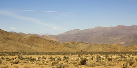 Panoramic of Atacama mountains, Chile