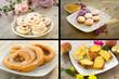 Collage dessert italiani