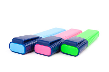 Colorful text highlighter pens
