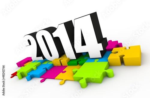 2014 puzzle
