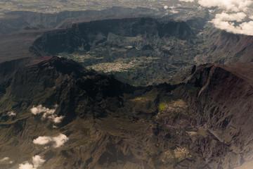 Le piton des neiges à la Réunion