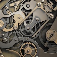 clockwork 3d illustration