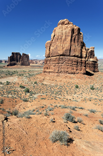 famous Red Rock formations