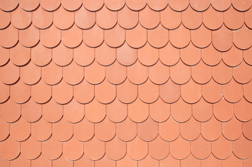 seamless texture of brown roof
