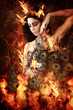 canvas print picture - So hot! (Emel Gloss)