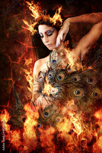 canvas print picture So hot! (Emel Gloss)
