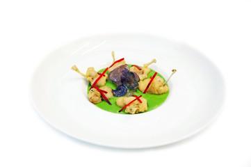 tempura de cuisses de grenouilles  # 30
