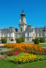 Festetics castle in Keszthely, Hungary