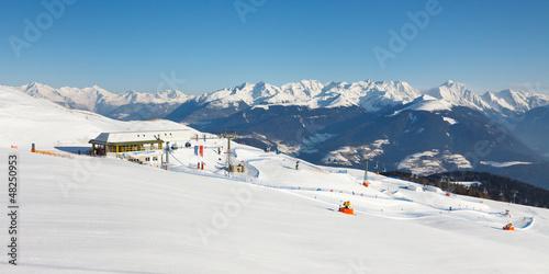 Ski Resort Panorama - 48250953