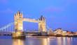 London Tower Bridge Panorama