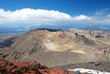 Tongariro Alpine crossing - tramping track in New Zealand