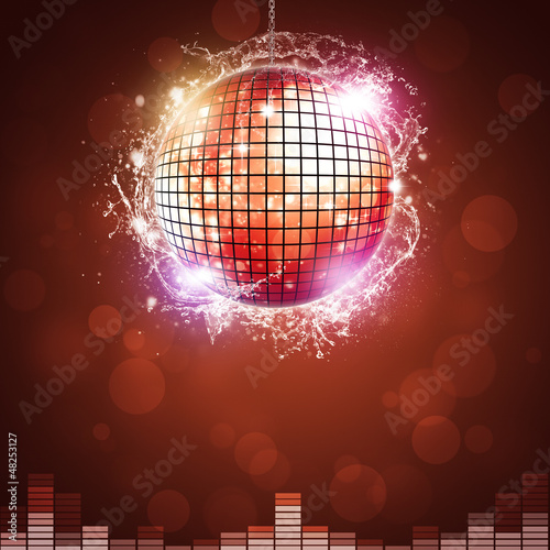 Disco Night Ball