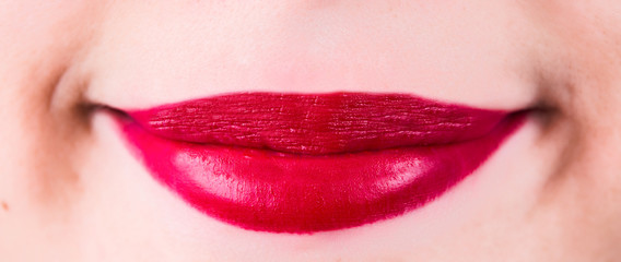 Women beauty lips