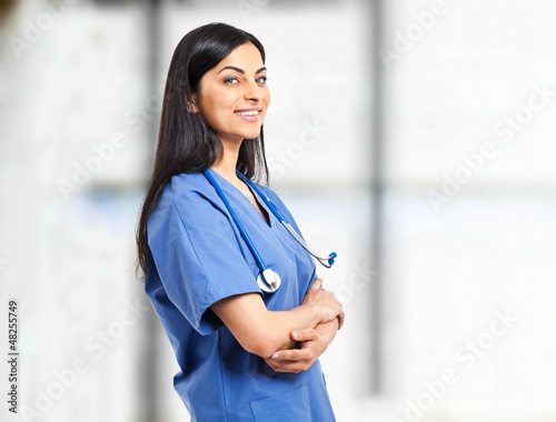 Nurse portrait