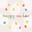 Vector Illustration of an Easter Background
