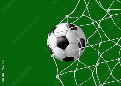 Ball in the net - goal