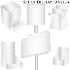 Display panel set white