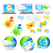 Internet business Icon sets. Creative Icon Design Series.