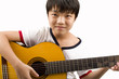 Kids Playing Instrument (Guitar) 03