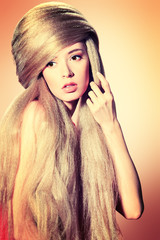 woman blonde