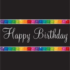 Happy Birthday Bling Card