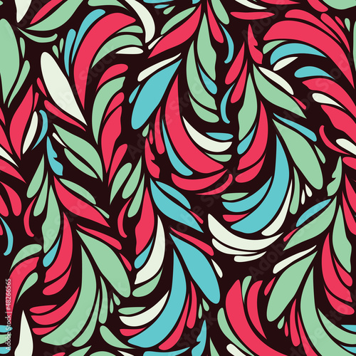 Seamless pattern with stylized scale  abstract background